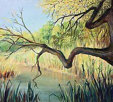 The Lake of Silence by kirilart