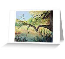 The Lake of Silence Greeting Card