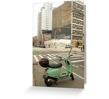 Scooter Un Greeting Card