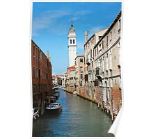 Venice San Giorgio dei Greci Belltower Poster