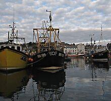 Cornwall Mevagissey harbor by kirilart