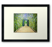 Schoenbrunn in Vienna The Palace Gardens Framed Print
