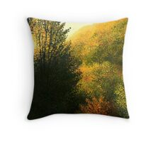 The Sun Hour Throw Pillow