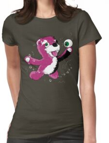 Breaking Bear Womens Fitted T-Shirt