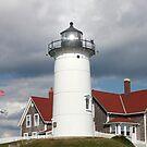 Nobska Lighthouse, Cape Cod, New England, USA by AnnDixon