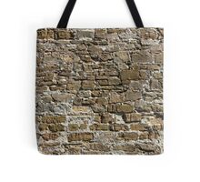 Ancient Stone Wall Background Tote Bag
