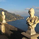 Terrace of Infinity in Ravello on Amalfi Coast by kirilart