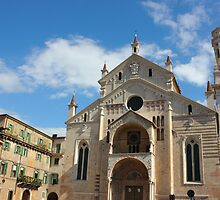 Verona Cathedral by kirilart