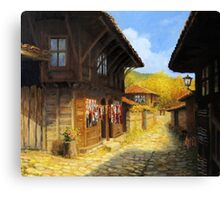 Zheravna in The Autumn Canvas Print
