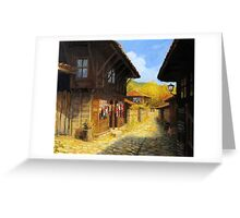 Zheravna in The Autumn Greeting Card