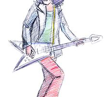 Marc Bolan - Get It On by dwornboy