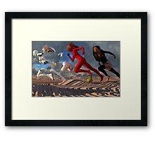 """Price Of Fame"" Framed Print"
