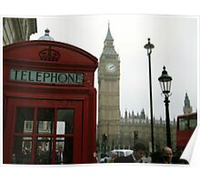 A Telephone Box II Poster