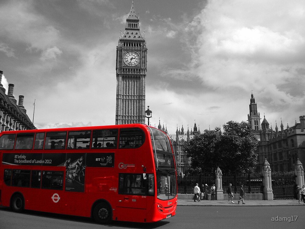 Red Bus London by adamg17
