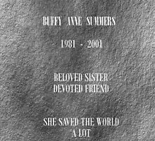 Buffy grave by RebeccaMcGoran