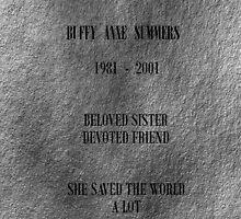 Buffy Anne Summers by RebeccaMcGoran