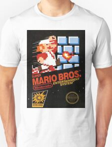 Mario Bros Nes Art T-Shirt