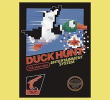 Duck Hunt Nes Art Kids Tee
