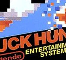 Duck Hunt Nes Art Sticker