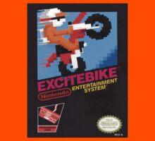 Excite Bike Nes Art Kids Clothes