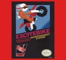 Excite Bike Nes Art One Piece - Short Sleeve
