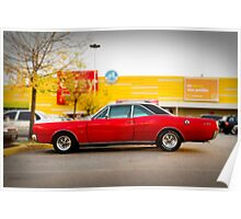 Dodge GTX Coupe Poster