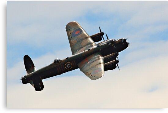 The Avro Lancaster Bomber by Shane Ransom