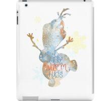warm hugs iPad Case/Skin