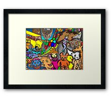 Circus Rejects Framed Print