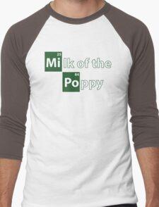 Game of Thrones Breaking Bad Milk of the Poppy Men's Baseball ¾ T-Shirt