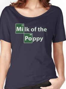 Game of Thrones Breaking Bad Milk of the Poppy Women's Relaxed Fit T-Shirt