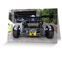 The Business End of an Aerial Atom Greeting Card