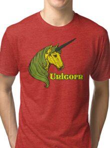 Unicorn Corn Tri-blend T-Shirt