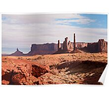 Monument Valley Totem Pole Poster