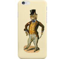 Gentleman Cat Vintage iPhone iPod Case iPhone Case/Skin