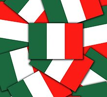 Smartphone Case - Flag of Italy - Multiple by Mark Podger