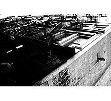 NY - building scape Photographic Print