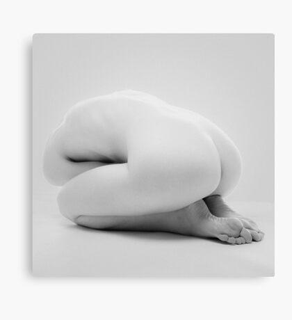 Grey Nude III Canvas Print