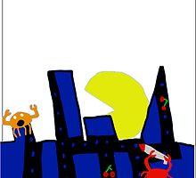 Pac Man Attack by acnrocks222