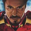 Iron Man by Candy Svoboda