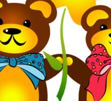Teddy Bears Sticker