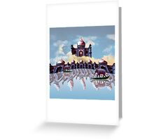 The Reality Temples Greeting Card
