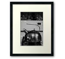Tea Pot B&W Framed Print