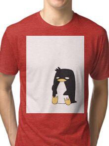 [Animal Series] Penguin Tri-blend T-Shirt