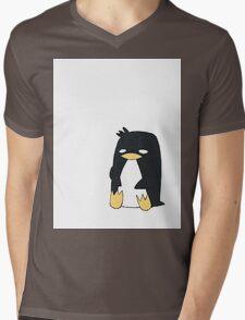 [Animal Series] Penguin Mens V-Neck T-Shirt
