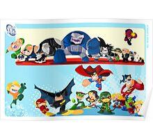 DC Superheroes Poster