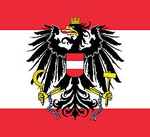 Smartphone Case - Flag of Austria (State) vertical by Mark Podger