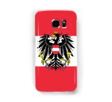 Smartphone Case - Flag of Austria (State) vertical Samsung Galaxy Case/Skin