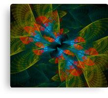Meeting of Six Nightingales Canvas Print