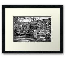 Water Under the Bridge by Smart Imaging Framed Print